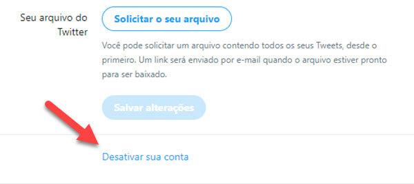 Cancelar o Twitter
