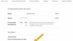 Como cancelar assinatura do JusBrasil, cobrança recorrente